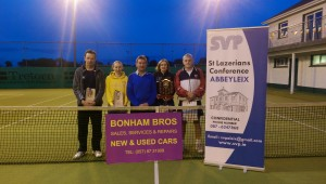 Winners and Runners Up of the A Mixed SVP competition sponsored by Bonhams Garage