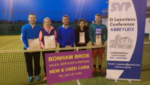 A Winners and Runners Up of the Mixed Doubles Open Competition