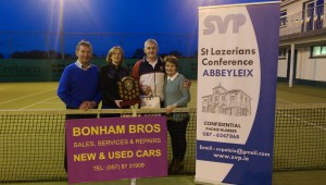 Overall Winners of the Walsh Cup competition in aid of SVP